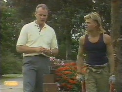 Jim Robinson, Scott Robinson in Neighbours Episode 0676