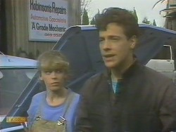 Charlene Mitchell, Tony Romeo in Neighbours Episode 0676