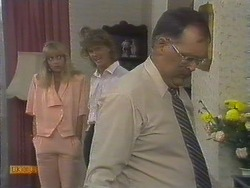 Jane Harris, Henry Ramsay, Harold Bishop in Neighbours Episode 0676