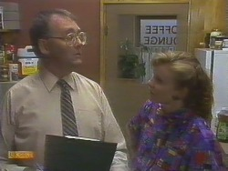 Harold Bishop, Sally Wells in Neighbours Episode 0676