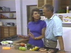 Beverly Marshall, Jim Robinson in Neighbours Episode 0677