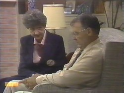 Nell Mangel, Harold Bishop in Neighbours Episode 0677