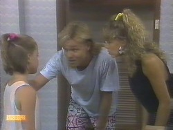 Katie Landers, Scott Robinson, Charlene Mitchell in Neighbours Episode 0677