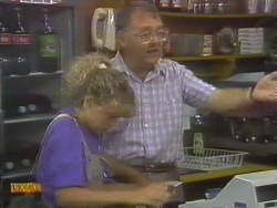Charlene Mitchell, Harold Bishop in Neighbours Episode 0677