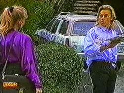 Jane Harris, Scott Robinson in Neighbours Episode 0822