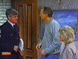 Police Officer, Jim Robinson, Helen Daniels in Neighbours Episode 0822