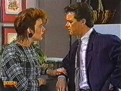 Gail Robinson, Paul Robinson in Neighbours Episode 0823