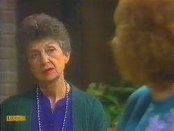Nell Mangel, Madge Bishop in Neighbours Episode 0824