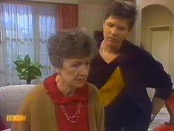 Nell Mangel, Joe Mangel in Neighbours Episode 0825