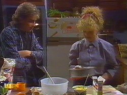 Nick Page, Sharon Davies in Neighbours Episode 0825