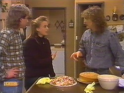 Nick Page, Bronwyn Davies, Henry Ramsay in Neighbours Episode 0826