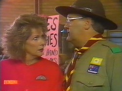 Madge Bishop, Harold Bishop in Neighbours Episode 0826