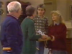 John Worthington, Nell Mangel, Nick Page, Sharon Davies in Neighbours Episode 0826