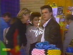 Scott Robinson, Gail Robinson, Paul Robinson in Neighbours Episode 0827