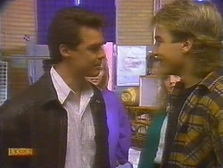 Paul Robinson, Nick Page in Neighbours Episode 0827
