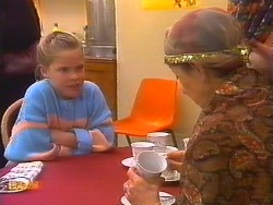 Katie Landers, Nell Mangel in Neighbours Episode 0827