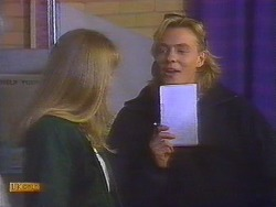 Jane Harris, Scott Robinson in Neighbours Episode 0827