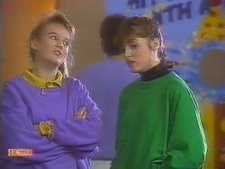 Bronwyn Davies, Jackie Vidor  in Neighbours Episode 0828