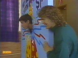 Joe Mangel, Henry Ramsay in Neighbours Episode 0828