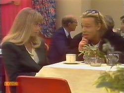 Jane Harris, Scott Robinson  in Neighbours Episode 0828