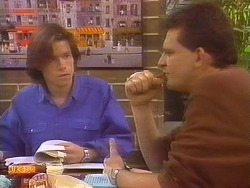 Mike Young, Des Clarke in Neighbours Episode 0829