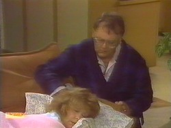 Madge Bishop, Harold Bishop in Neighbours Episode 0829