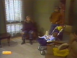 Bronwyn Davies, Jane Harris, Jamie Clarke in Neighbours Episode 0829