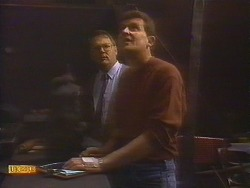 Harold Bishop, Des Clarke in Neighbours Episode 0829