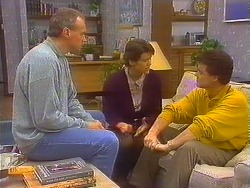 Jim Robinson, Beverly Robinson, Paul Robinson in Neighbours Episode 0830