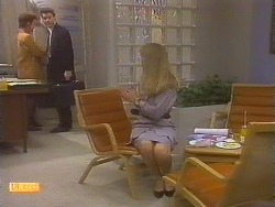 Gail Robinson, Paul Robinson, Jane Harris in Neighbours Episode 0831
