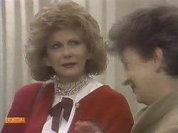 Madge Bishop, Nell Mangel in Neighbours Episode 0832