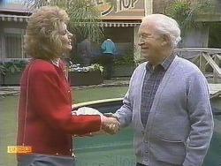 Madge Bishop, John Worthington in Neighbours Episode 0832