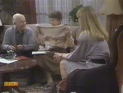 John Worthington, Nell Mangel, Jane Harris in Neighbours Episode 0832