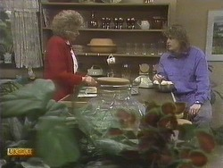Madge Bishop, Henry Ramsay in Neighbours Episode 0832