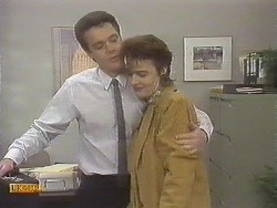 Paul Robinson, Gail Robinson in Neighbours Episode 0832