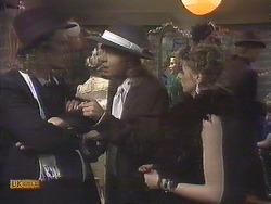 Henry Ramsay, Scott Robinson, Melanie Pearson in Neighbours Episode 0834