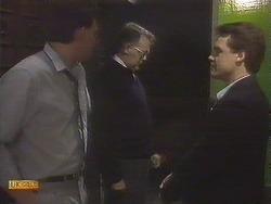 Des Clarke, Harold Bishop, Paul Robinson in Neighbours Episode 0834