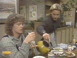 Henry Ramsay, Scott Robinson in Neighbours Episode 0834