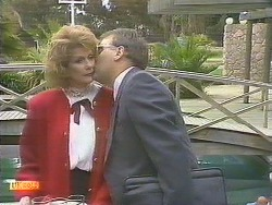 Madge Bishop, Harold Bishop in Neighbours Episode 0835