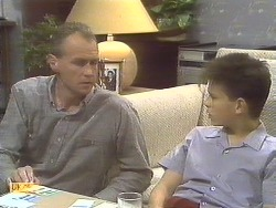 Jim Robinson, Todd Landers in Neighbours Episode 0835