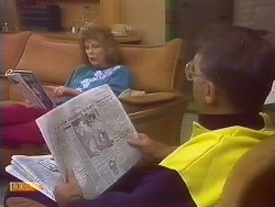 Madge Bishop, Harold Bishop in Neighbours Episode 0836