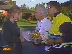 Jane Harris, John Worthington, Harold Bishop in Neighbours Episode 0836
