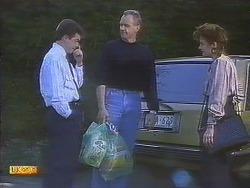 Paul Robinson, Jim Robinson, Gail Robinson in Neighbours Episode 0837