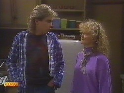 Nick Page, Sharon Davies in Neighbours Episode 0837