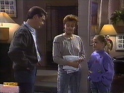 Paul Robinson, Gail Robinson, Katie Landers in Neighbours Episode 0838
