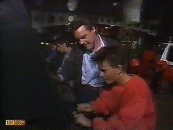 Paul Robinson, Todd Landers in Neighbours Episode 0838