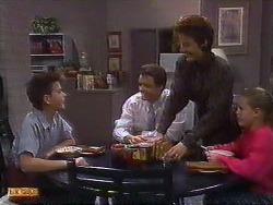 Todd Landers, Paul Robinson, Gail Robinson, Katie Landers in Neighbours Episode 0838