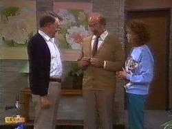 Harold Bishop, Reverend Sampson, Madge Bishop in Neighbours Episode 0838