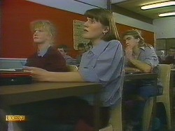 Sharon Davies, Jessie Ross, Nick Page in Neighbours Episode 0839