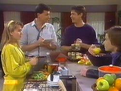 Bronwyn Davies, Des Clarke, Joe Mangel, Mike Young in Neighbours Episode 0839